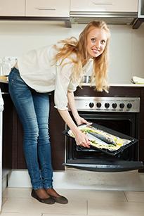 Приготовление рыбного блюда