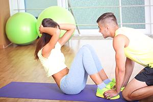 Идеальный живот с помощью упражнений и диет
