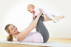 Укрепляем мышцы после родов