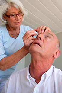 Процедуры у глазного врача