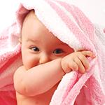 Потница у новорожденных
