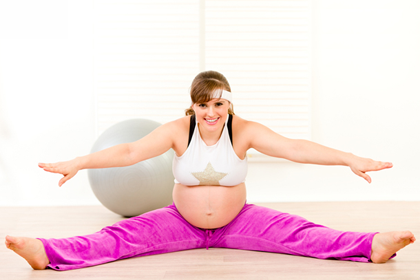 Физические упражнения для беременных - 1, 2, 3 триместр