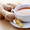 Имбирный чай горячит тело и способствует похудению