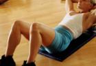 Плоский живот с помощью упражнений