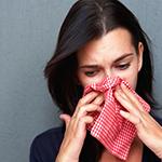 Если не лечить насморк, то может появиться синусит