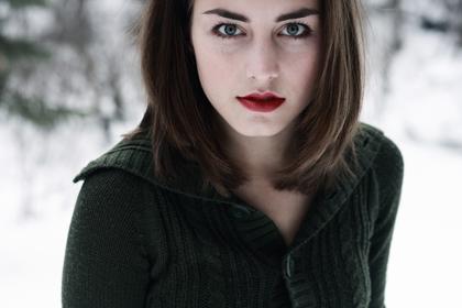 Цветотип внешности зима - макияж, одежда