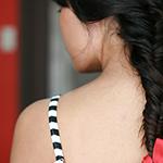 Как плетется коса рыбий хвост - пошаговое руководство